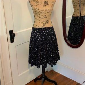 Ann Taylor polka dot skirt.